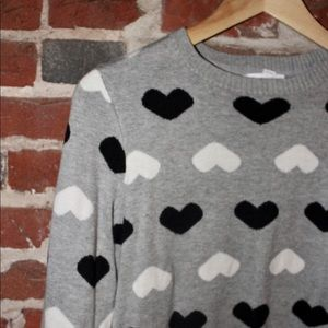 Charter Club: Heart Sweater